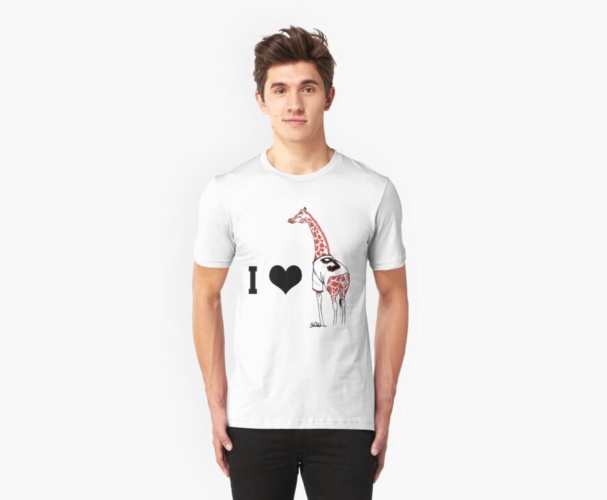I ♥ Belt Giraffe (Version 2) by swiener