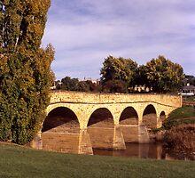 Autumn—Richmond Bridge by Brett Rogers