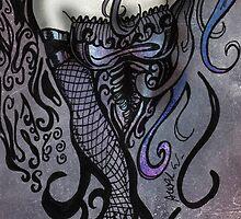 The Overseeing Dark Angel by AlexKujawa