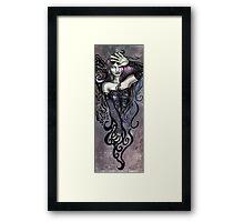 The Overseeing Dark Angel Framed Print