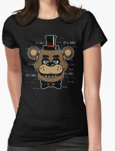 Five Nights at Freddy's - FNAF - Freddy - It's Me Womens Fitted T-Shirt