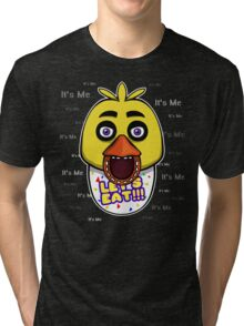Five Nights at Freddy's - FNAF - Chica - It's Me Tri-blend T-Shirt