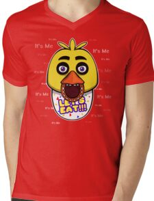 Five Nights at Freddy's - FNAF - Chica - It's Me Mens V-Neck T-Shirt