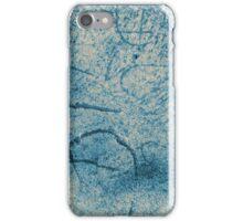 concrete engraving 1 iPhone Case/Skin
