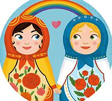 Russian doll brides by borines