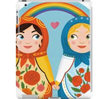 Russian doll brides iPad Case/Skin