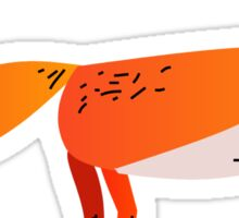 Fox Lonely Sticker