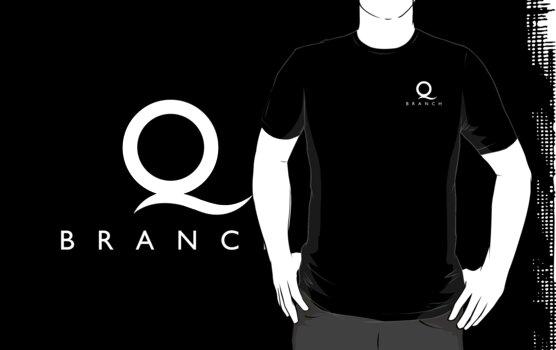 Q Branch White Logo by Christopher Bunye