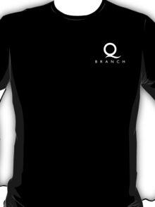 Q Branch White Logo T-Shirt