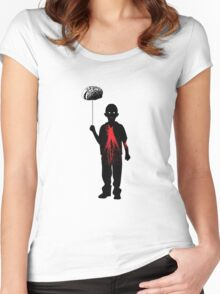 Zombie Kid Women's Fitted Scoop T-Shirt