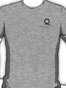 Q Branch Black Logo T-Shirt
