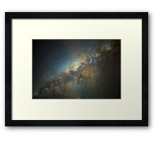 The Milky Way - Reloaded. Framed Print