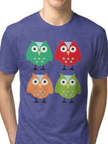 Cute owls Tri-blend T-Shirt