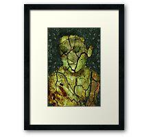 Broken - (Image, Poem, Music) Framed Print