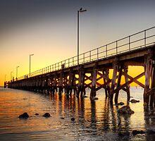 Moonta Bay Jetty by Darryl Leach