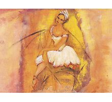 Pretty Ballerina Photographic Print
