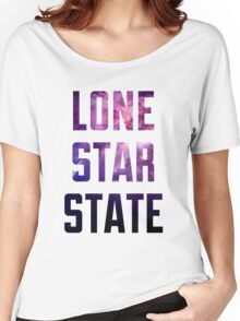 Lone Star State Nebula (purple) Women's Relaxed Fit T-Shirt