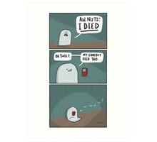 Dead Batteries Art Print
