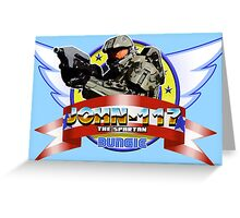Super Master Chief! - HALO/SONIC THE HEDGEHOG MASH UP Greeting Card