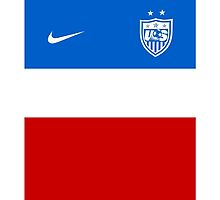 USWNT 2014 Away Jersey by applecannon23