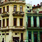 Street Scene, Havana, Cuba by Sue Ratcliffe