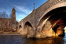 Arches Over the Water, Peebles by Christine Smith