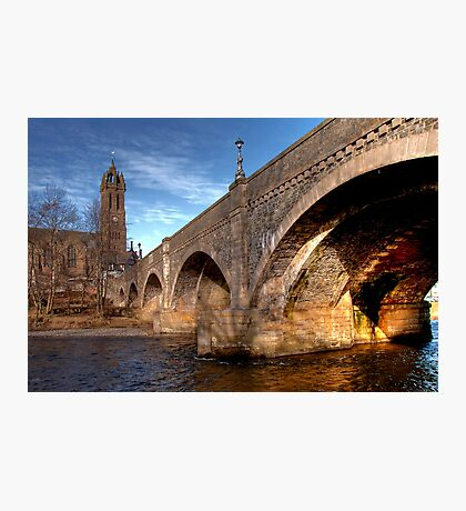 Arches Over the Water, Peebles Photographic Print