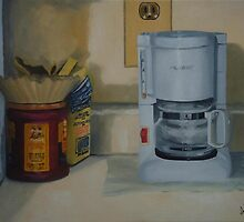 Coffee machine and Coffee by Anil Singh
