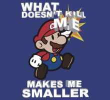 Mario Bros - What doesn't kill me makes me smaller by ABB13