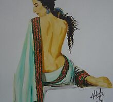 Vidya Balan by Anil Singh