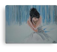 Winter and your thought  Canvas Print