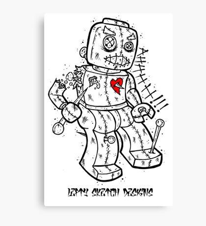 LEGO VOODOO DOLL Canvas Print