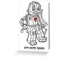LEGO VOODOO DOLL Greeting Card