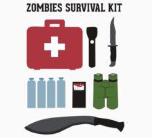 Zombie survival kit by EleYeah