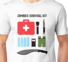 Zombie survival kit Unisex T-Shirt