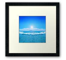 Tropical Sea Framed Print