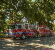 UC Davis Fire Engine by JT Valine