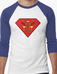 Superbot Men's Baseball ¾ T-Shirt