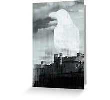 TOWER RAVEN Greeting Card