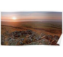 Solway Sunset Poster