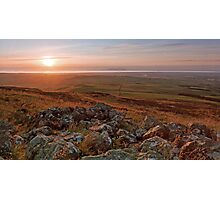 Solway Sunset Photographic Print