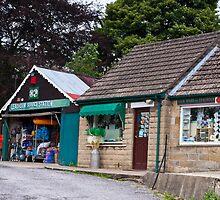 Lealholm  The Service Station by James  Key