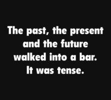 It was tense. by FunniestSayings