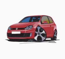 VW Golf GTi (Mk6) Red by Richard Yeomans