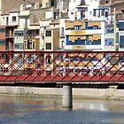 Eiffel Bridge in Girona (Espana) by Vittorio Magaletti