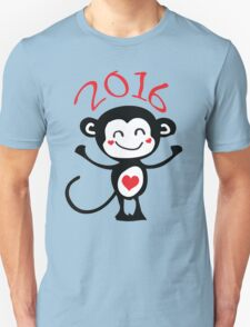 2016 Year of animal Monkey Unisex T-Shirt