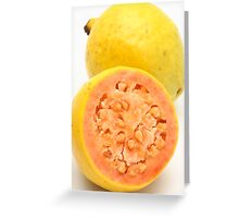 Guava fruits Greeting Card