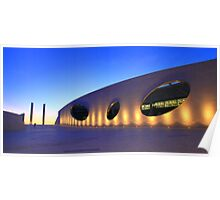 Champalimaud Centre for the Unknown . sunset Poster