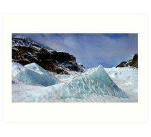 fox glacier  south westland  nz Art Print