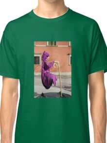 levitate girl in Old Town in Warsaw  Classic T-Shirt